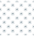 thumbs up pattern seamless vector image