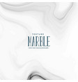 white marble texture background vector image vector image