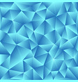 bright polygonal mosaic vector image