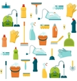 Cleaning Seamless Pattern vector image
