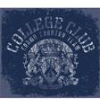 CollegeClub vector image vector image