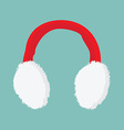 Ear muffs icon vector image