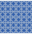 geometric seamless pattern islamic art vector image