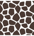 Giraffe skin seamless pattern Safari vector image vector image