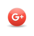 Google plus icon simple style