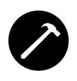 hammer icon design vector image