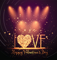 Happy Valentines Day background 0501 vector image