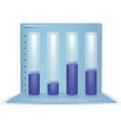 Infographic four beautiful 3d cylindrical
