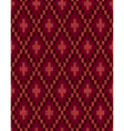 Seamless Knitwear Textile Pattern vector image vector image