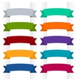 Colorful Ribbons Isolated vector image