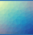 abstract low poly design vector image vector image