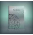 Molecule Brochure 01 A vector image vector image