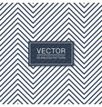 simple seamless zigzag pattern blue and white vector image vector image