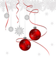 Winter Cristmas background vector image vector image