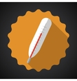Medical Thermometer Flat Icon vector image