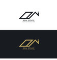 modern real estate business logo design template vector image