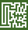 maze two vector image