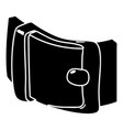 men belt icon simple style vector image vector image