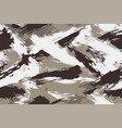 seamless winter camouflage in form dirt vector image vector image