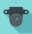 action small camera icon flat style vector image