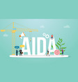 aida attention interest desire action sales vector image
