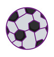 balloon soccer sport icon vector image