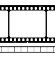 blank 35mm film strip vector image vector image