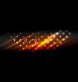 liquid neon flowing waves glowing light lines vector image vector image