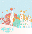 Oktoberfest card vector image vector image