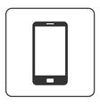 Phone mobile icon Smartphone 1 vector image