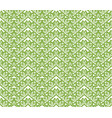 greenery zigzag seamless pattern background vector image