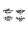 premium genuine original authentic logo or vector image