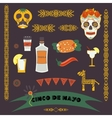 Cinco de Mayo fifth of May Day vector image