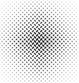 Abstract monochrome diagonal ellipse pattern vector image