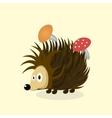 animal Hedgehog cartoon vector image vector image