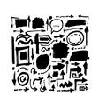 Arrows sketch for your design vector image vector image