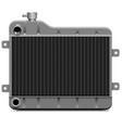 car radiator icon vector image vector image