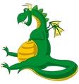 Dragon theme vector image vector image