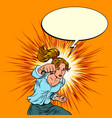 female force is a blow feminism vector image vector image