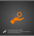 gear icon simple sign business vector image