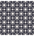 Round Geometric Seamless Pattern vector image