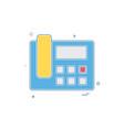 telephone sound voice icon design vector image
