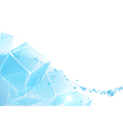 Ice Water vector image