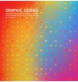 abstract bright circles ornament vector image