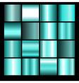 azure gradient backgrounds vector image vector image