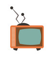 old television technology vector image vector image