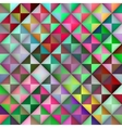 Seamless Multicolor Gradient Triangle Tiles vector image vector image