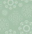 seamless pattern snowflakes vector image vector image