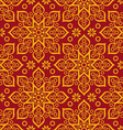 beautiful oriental pattern vector image