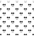 chestnut pattern seamless vector image vector image